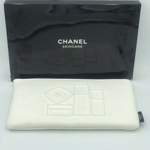 Chanel Makeup Cosmetic Pouch Clutch Vanity Bag VIP